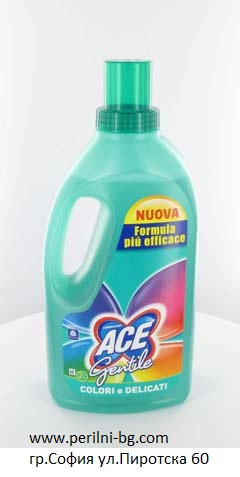ACE GENTLE FOR COLOURS REMOVES STAIN за петна цветно 1л.